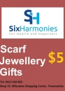 SIX HARMONIES GIFTS $5 voucher