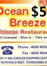 Ocean Breeze $5 voucher